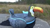 Intex-Mega-Toucan-Inflatable-Island-Time-Lapse-Deflation