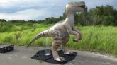 Jet-Creations-Velociraptor-Time-Lapse-Inflation