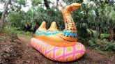 Play-Day-Mega-Inflatable-Camel-Time-Lapse-Deflation