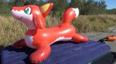 Red-Fox-Pool-Toy-Deflation