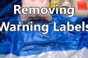 Removing-Warning-Labels-from-Inflatable-Toys