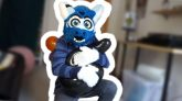 Stomping-Balloons-in-Fursuit