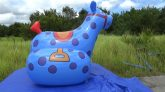 Blue-Polka-Dotted-Rocking-Horse-Time-Lapse-Deflation
