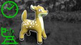 Giant-Inflatable-Deer-Pool-Toy-Deflation-in-Time-Lapse