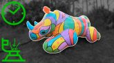 Bestway-Pop-Art-Rhino-Pool-Float-Inflation-in-Time-Lapse