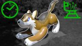 Massive-Inflatable-Wolf-Ride-On-Toy-Deflation-in-Time-Lapse