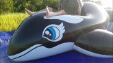 Riding-the-Inflatable-World-5-Meter-Whale-in-Slow-Motion
