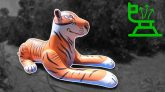 Giant-Tiger-Pool-Toy-Deflation