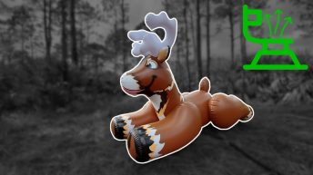 Huge-Reindeer-Pool-Toy-Deflation