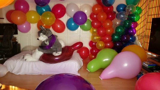 Playing-with-323939-long-neck-and-363939-balloons-non-pop