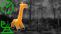 9-Foot-Tall-Inflatable-Giraffe-Sprinkler-Inflation-in-Time-Lapse
