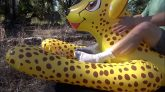 Riding-the-Inflatable-World-Cheetah