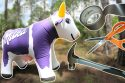 Reinforcing-an-Inflatable-Toy-a-Milka-Cow