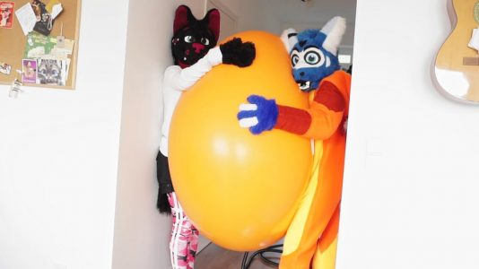 Inflating-a-Massive-Balloon-In-My-Corridor-w-Knuddy